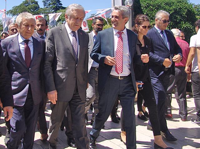 MHP Genel Başkan Yardımcısı Celal Adan Perpa'yı Ziyaret Etti