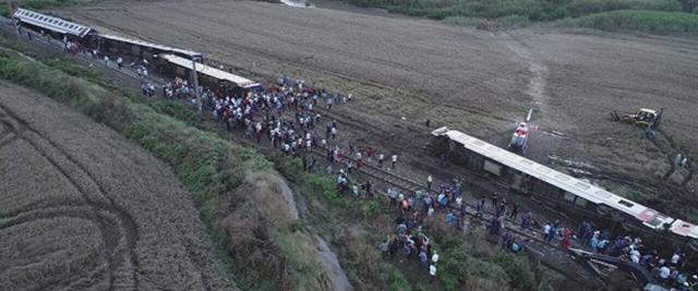 Çorlu'da Tren Kazası