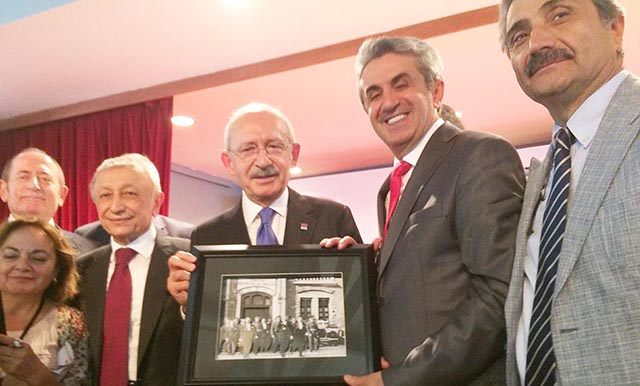 Kemal Kılıçdaroğlu Perpa Buluşması