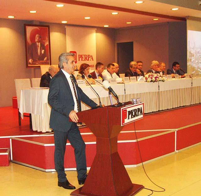 Perpa Ticaret Merkezi 2018 Genel Kurul / Hasan Sezgin
