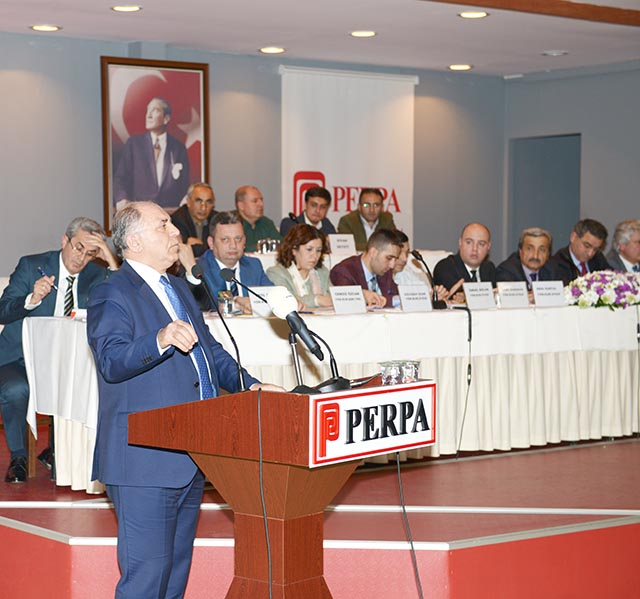 Perpa Ticaret Merkezi 2018 Genel Kurul / Mustafa Kaçmaz