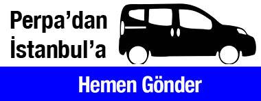 Hemen Gönder Perpa'dan İstanbul'a
