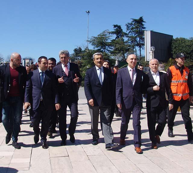 Bulgaristan Ekonomi Bakanı Emil Karanikolov Perpa'yı Ziyaret Etti
